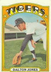 1972 Topps Baseball Cards      083      Dalton Jones